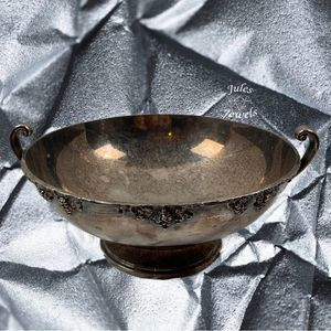 Academy Silver on Copper Footed Bowl